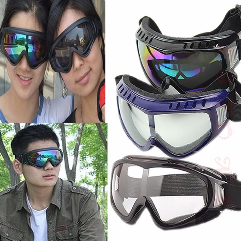 Clear Unisex Safety Goggles Motorcycle Cycling Eye Protection Glasses Tactical Paintball Wind Dust Airsoft Goggles Wholesale