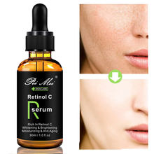 Pei Mei Retinol C Serum Face Whitening Reduces Age Spots anti Freckles Fade Dark Spot treatment freckles Facial Moisturizer(China)