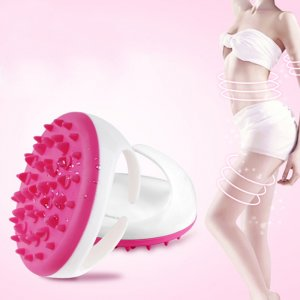 New hot sale Soft Bath Shower Body Anti Cellulite Massager Brush Glove Beauty lose weight for arm leg body Massager Beauty