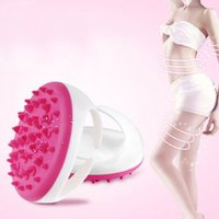 New hot sale Suave Bath Shower Corpo Anti Celulite Massageador Luva escova de Beleza perder peso para braço perna Massager do corpo beleza