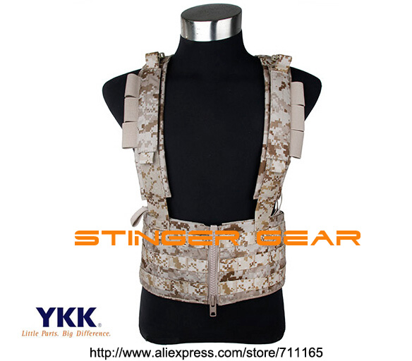 TMC Sniper Chest Rack AOR1 Light MOLLE Military Chest Rig Tactical Gear+Free shipping(SKU12050832) tmc field shirt