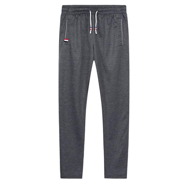 DIMUSI Mens Joggers Casual Pants Fitness Men Sportswear Tracksuit Bottoms Skinny Sweatpants Trousers Gyms Jogger Track Pants 6XL 2