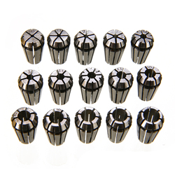 15pcs/set ER11 Spring Collet High Precision Collet Set For CNC Engraving Machine Lathe Mill Tool