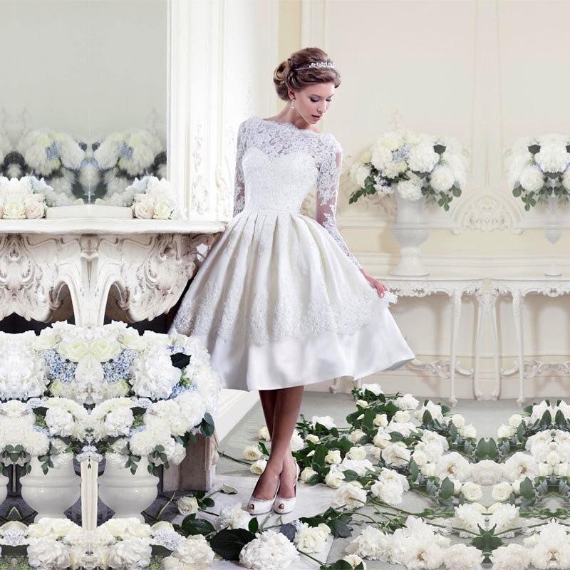 LOHILL 2017 New Damen Sexy Dresses Spitze Langarm Etuikleid ...