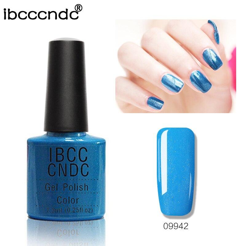 IBCCCNDC 7.3ml UV köröm gél Easy áztassa köröm gél lengyel - Köröm művészet - Fénykép 1