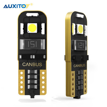 2x CANBUS T10 LED W5W NO ERROR 2825 Car Parking Light Turn Signal Lamp Bulb Side Marker Lamp For BMW E46 E90 F30 E60 3 Series X5 image