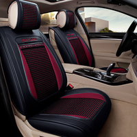 5D version full surrounded car seat cover Microfiber leather ice silk car seat cushion universal fit automobile accessories 1623