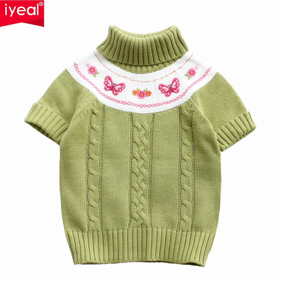 c38d46bf2 IYEAL New Arrival Girls Sweater Knitted Baby Clothing 2018 Spring ...