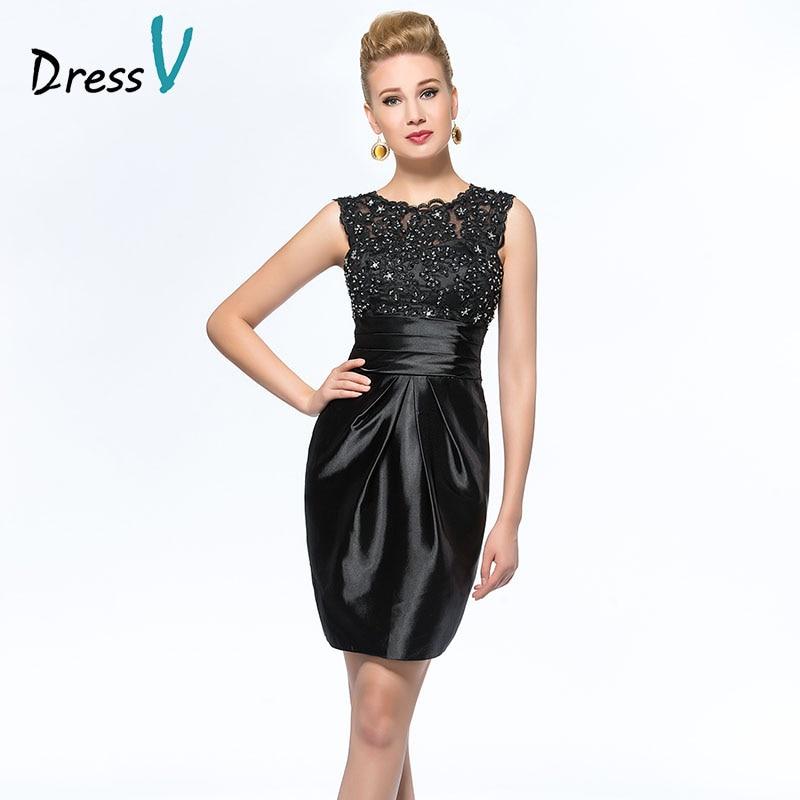 Sexy See Through Prom Dresslong Black Lace Evening Dresslong. Hot Sale  Dressv Mother Bride Dress Custom Wedding Party Dress Knee dcc21dd72