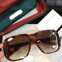 2018 luxury Runway sunglasses men brand designer sun glasses for Men Carter glasses B1164