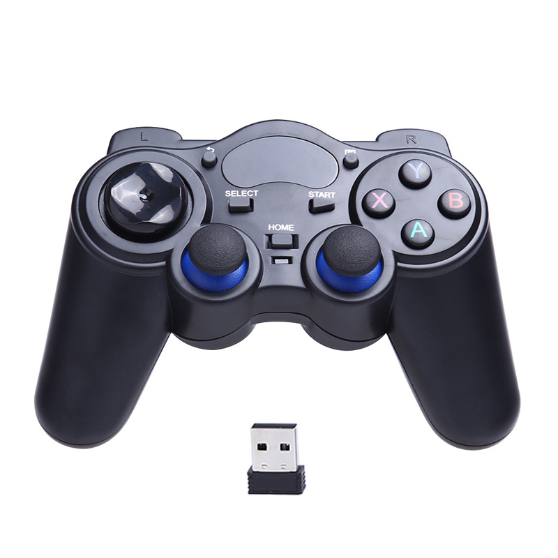 2017 2 4G Wireless Game Gamepad Joystick for Android TV Box Tablets PC GPD XD Console