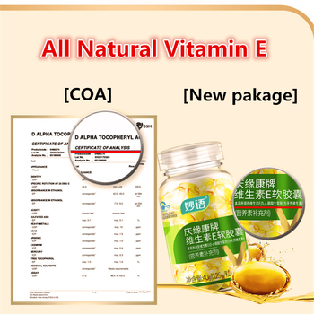 160pcs/bottle,Vitamin E Supplement For strong immunity and healthy skin and eyes,kill Wrinkles,Improves Cognitive Function