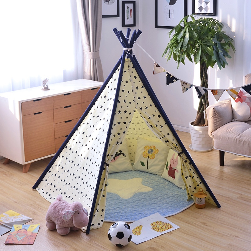 Ins Kids Baby Photo Prop font b Toy b font Play Tent House Fashion Baby Room