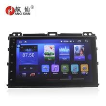 """Бесплатная доставка 9 """"радио автомобиль Toyota Prado 120 2004-2009 Quadcore Android 6,0 dvd-плеер автомобиля с 2 г Оперативная память, 32 г Rom, руль"""