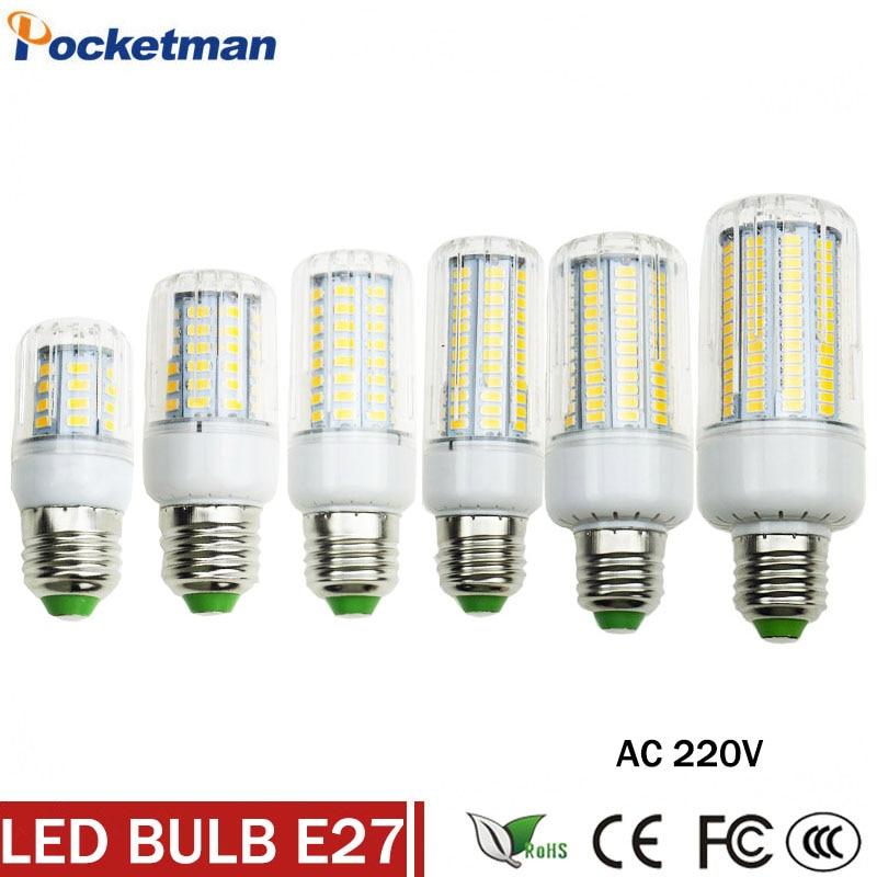 High lumen Lamparas SMD5730 SMD Lampada LED Lamp E14 220V Bombillas LED Bulb Spot Luz candle light E27 LED Light Bulb