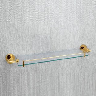 где купить  Single Tier Bathroom  Rack,Bronze and Glass Shower Rack,KE9911A,1 piece/lot, free shipping  по лучшей цене