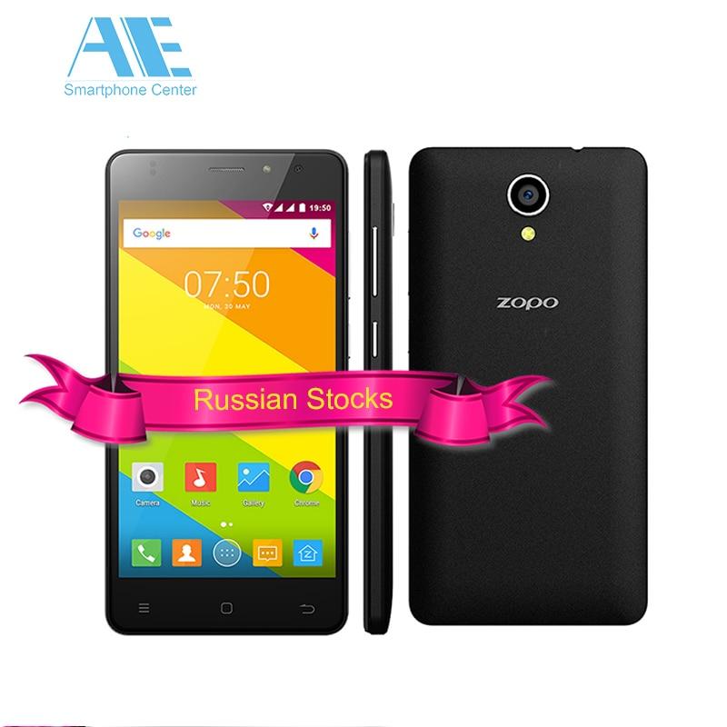 Цена за Оригинал ZOPO C2 Смартфон MT6580 Quad Core 1.3 ГГц Android 6.0 мобильный телефон 5.0 Дюймов 1280x720px 1 Г RAM 8 Г ROM 3 Г Мобильный телефон