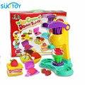 Montessori Colorido do miúdo Macio Argila plasticina Brinquedo sorvete Conjunto de 5 cores de Alta Quanlity Presente Para Baby & Kids
