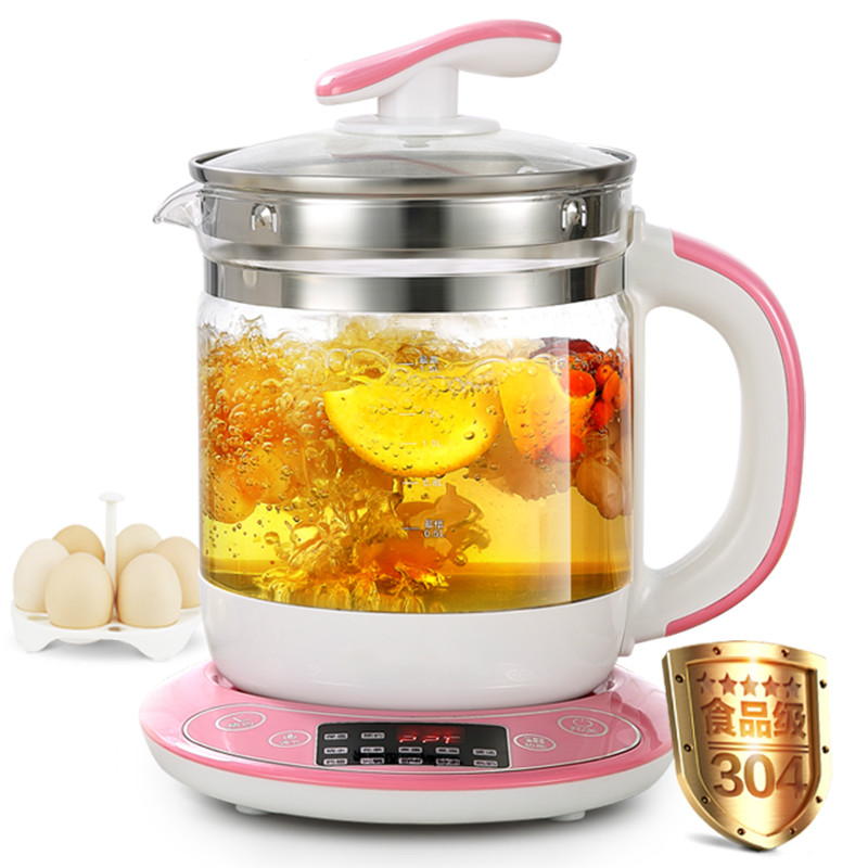 High quality Electric kettle Fully automatic  thickened glass multi-function electric heating black tea pot boiling djb1040 full copper six head chandelier 220v