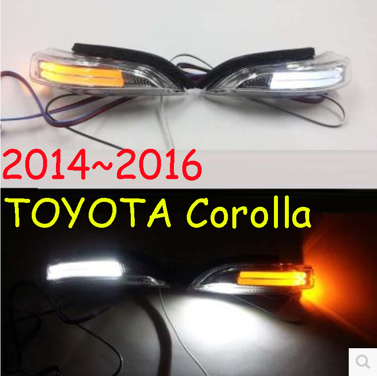 car-styling,Corolla Mirror light,2007~2015,Free ship!2pcs,Corolla fog light;car-covers,chrome,Corolla turn light;Axio кармашки на стену sima land приятные мелочи цвет салатовый розовый бордовый 5 шт