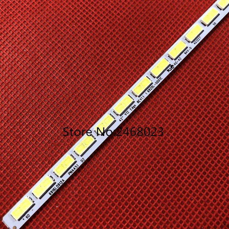 531mm LED Backlight Strip 60leds For K-ONKA LG 42 Inch TV LED42X8000PD 6920L 0001C 6922L 0016A LE42A70W 6916L01113A LC420EUN