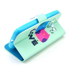 Luxury Flip Leather Case For Samsung Galaxy Core LTE 4G SM-G386F G386F