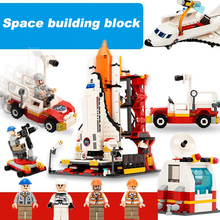 Space Series Assembly Building Block Shuttle Launch Center Model Children Toys DIY Educational Classic Toy