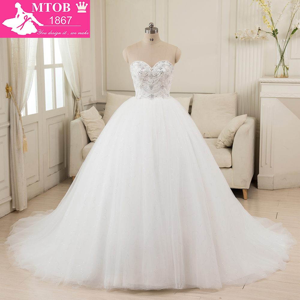 Online Shop China Ball Gown Vintage Wedding Dresses 2016