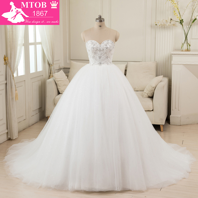 Online Shop China Ball Gown Vintage Wedding Dresses 2016 Real Sample ...