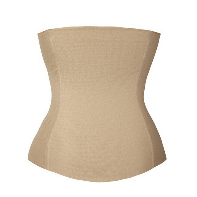New Lady's Waist Tummy Slimming Body Shapewear Belt Corset Cincher Trimmer Girdle Latex Waist Trainer 5