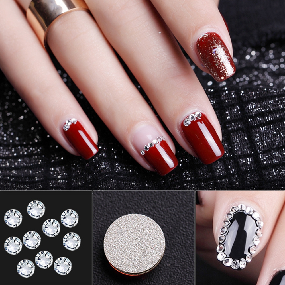 1440pcs Crystal Clear Shining Designs ss2- ss10 Top Quality Non-hotfix Flatback Nail Rhinestones 3d Nail Art Decorations super shiny 5000p ss16 4mm crystal clear ab non hotfix rhinestones for 3d nail art decoration flatback rhinestones diy