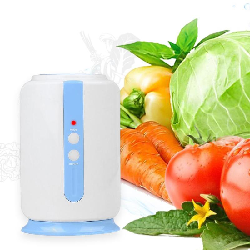Household Air Purifier Portable Ozone Generator Fridge Deodorization Food Fruit Vegetables Sterilizer Purifying Machine portable activated ozone sterilizer generator purifier oxygen concentrate machine 400mg