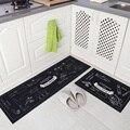 New 40*60 cm e 40*120 cm 2 Pcs tapetes de Cozinha anti-skid tira água lavável tapetes salão casa de cabeceira quarto esteira de banho tapete