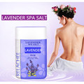 Lavender Spa Salt 600g Bath Salts Lavender Geranium Essential Oil Sea Salt Whitening Skin Care