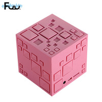 Q Stereo Bluetooth Speaker Cute Wireless Subwoofer Card Portable Speaker Colorful Lights Architectural Bluetooth Audio Wholesale