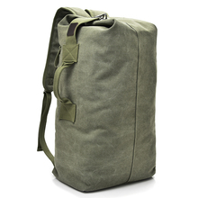 Large Capacity Rucksack Man Travel Bag Mountaineering Backpack Male Luggage Boys Canvas Bucket Bags Men Backpacks Small Green цена 2017