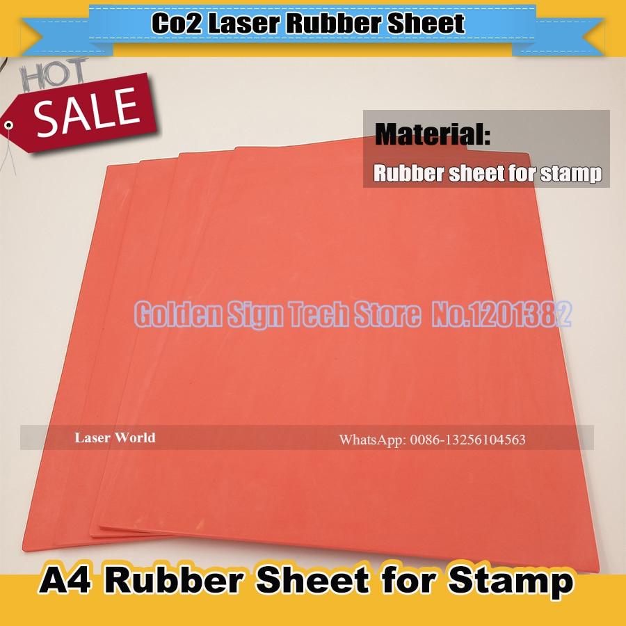 Aliexpress Com Buy 1pcs Red Laser Rubber Sheet Rubber