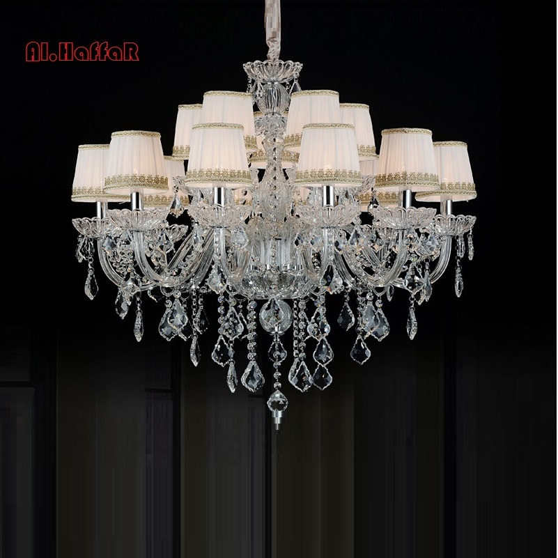 Modern chandeliers Frete Gratis Free Shipping Hand Blown Crystal Chandelier Light large Cristal Lustre Best selling
