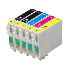5x T1295 Ink cartridge for stylus SX235W SX425W SX420W SX438W SX525WD SX535WD Printer