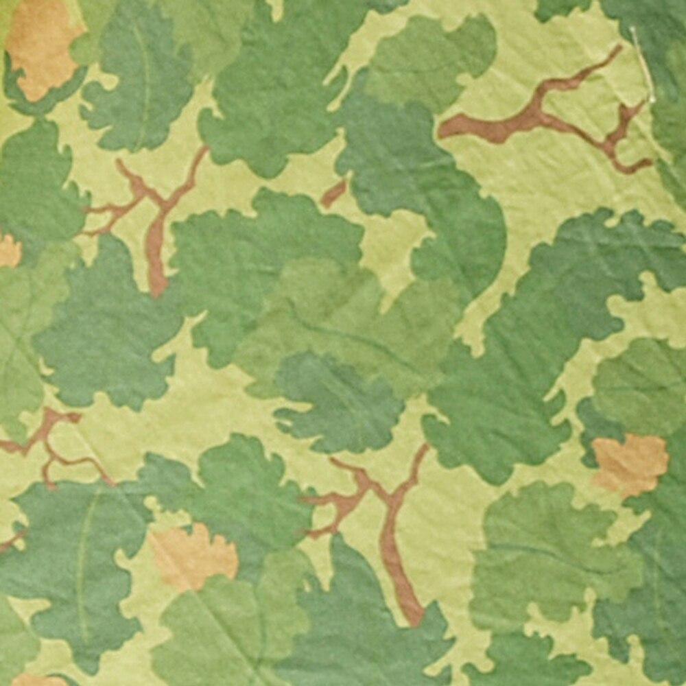 VIETNAM WAR US CLOTH MITCHELL REVERSIBLE CAMO FABRIC 100*150CM-50033