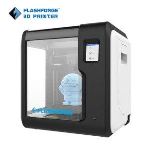 Image 2 - Flashforge 3D Máy In 2020 Mới Nhà Phiêu Lưu Người 3 Tự Động San Lấp Mặt Bằng Máy Có Thể Tháo Rời Giường Hỗ Trợ Cloud In W/1 Cuộn Dây