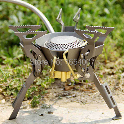 Fire Maple Camping Gas Stove Backpacking Propane Stove Titanium Gas Stove Split  Camping Outdoor Stoves FMS-100T 2450W split gas stove burner made of titanium alloy for outdoor camping 98g power 2800w
