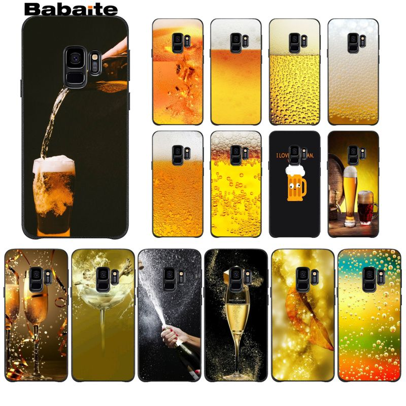 Babaite Summer Beer Bubble Bottle Top Detailed Popular Cell Phone Case Cover For GALAXY s7 edge s8 plus s9 plus s6 s6 edge s10 image