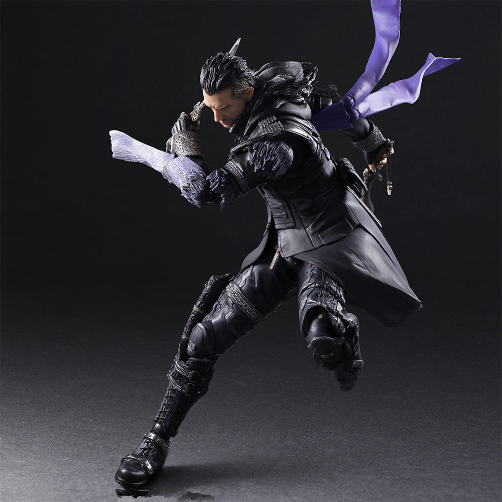 Play Arts Final Fantasy Figure Final Fantasy VII Squall Nyx Ulric Figure PA Play Arts Kai 27cm PVC Action Figure Doll Toys final fantasy play arts kai action figure 250mm cloud sephiroth squall pvc anime toy collection model figurine play arts kai