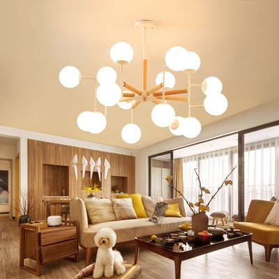 Post-modern personality designer creative multi-glass ball pendant light nordic magic beans bubble molecules LED pendant lampPost-modern personality designer creative multi-glass ball pendant light nordic magic beans bubble molecules LED pendant lamp