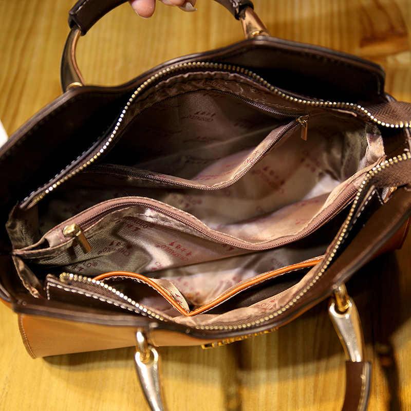 2019 Vrouwen Echt Lederen Handtassen Luxe Handtassen Crossbody Tassen Voor Vrouwen Tassen Designer Merken Schoudertas Sac Een T53