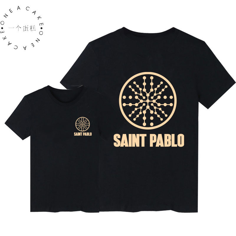 2018 Fashion Saint Pablo TOUR T-Shirts Hip Hop Kanye West I feel like Paul Sweatshirts With Fleece Hoody Men Women