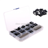 620Pcs Dupont Wire Cable Jumper Pin Header Connector Housing Kit Male Crimp Pins Female Pin Connector