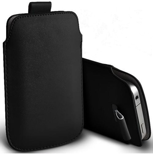 Pull Up Pouch Case Bag for QMobile Noir s