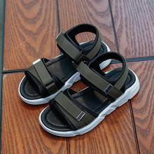 HaoChengJiaDe Boys Sandals Summer Sneakers Kids Shoes Infantil Boys Beach Sandals Casual Fashion Soft Flat Shoes Size 26-30